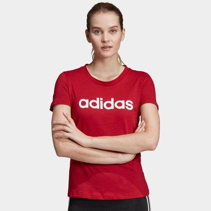 adidas Ladies Branded Slim T-Shirt