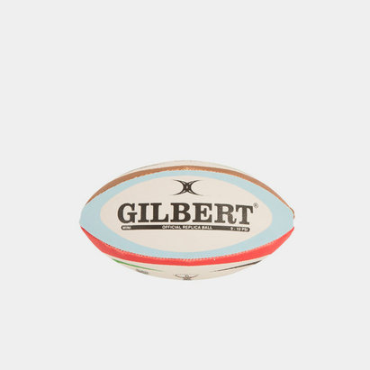 Gilbert Harlequins Mini Replica Rugby Ball