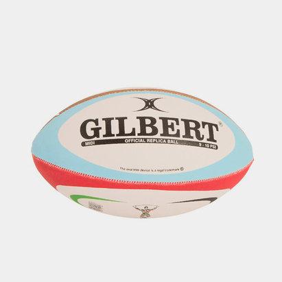 Gilbert Harlequins Midi Replica Rugby Ball