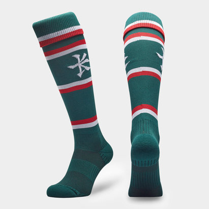 Kukri Leicester Tigers 2019/20 Home Rugby Socks