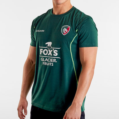 Kukri Leicester Tigers 2019/20 Lifestyle T-Shirt