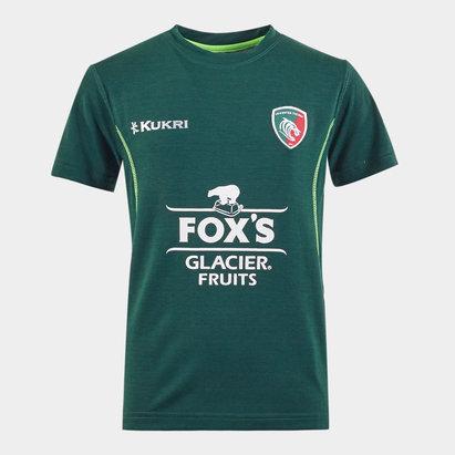 Kukri Leicester Tigers 2019/20 Kids Lifestyle T-Shirt