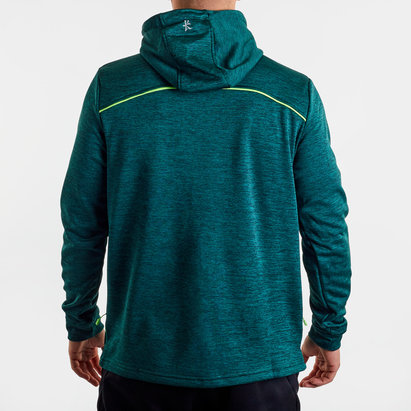 Kukri Leicester Tigers 2019/20 Performance Hooded Rugby Sweat