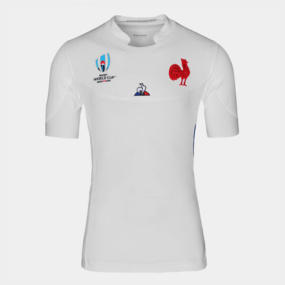 Le Coq Sportif France RWC 2019 Alternate Authentic Test S/S Rugby Shirt