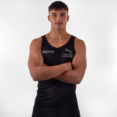 Macron Newcastle Falcons 2019/20 Players Rugby Training Singlet