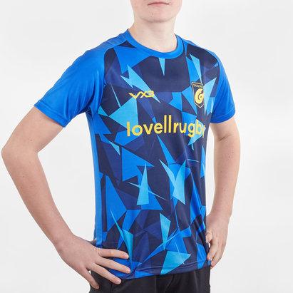 VX3 Dragons 2019/20 Kids Warm Up Poly Rugby Training T-Shirt