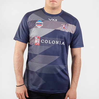 VX3 Classic Lions 2020 Players S/S Rugby Training Shirt