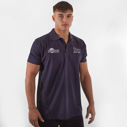 Samurai Sale Sharks 2019/20 Leisure Rugby Polo Shirt