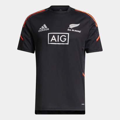 adidas New Zealand Rugby All Blacks Performance Training Top Mens