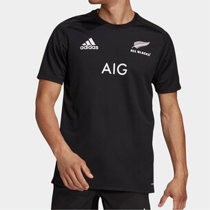 adidas New Zealand All Blacks Mens Home T-Shirt 2021/22