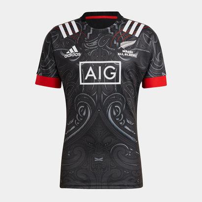 adidas Maori All Blacks Junior Home Shirt 21/22