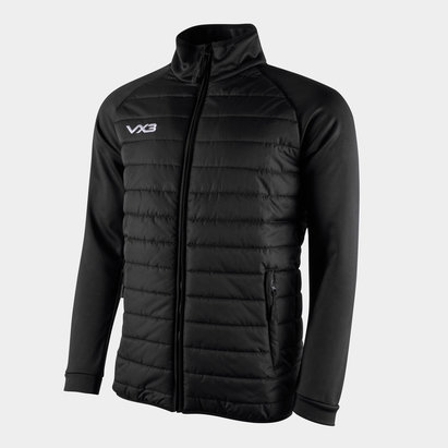 VX-3 Pro Full Zip Quilted Hybrid Jacket
