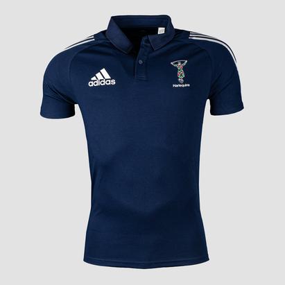 adidas Harlequins 2021/22 Adult Polo Shirt