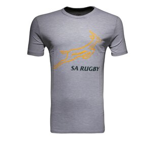 Asics South Africa Springboks Logo T-Shirt Mens