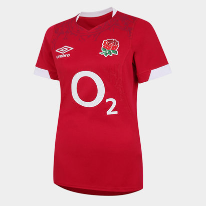 Umbro England Alternate Rugby Shirt 2021 2022 Ladies
