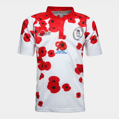 Samurai Army Union Poppy Appeal S/S Rugby Shirt