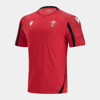 Macron Wales 21/22 Training T-Shirt Kids