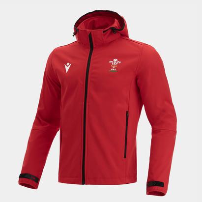 Macron Wales 21/22 Full Zip Jacket Mens