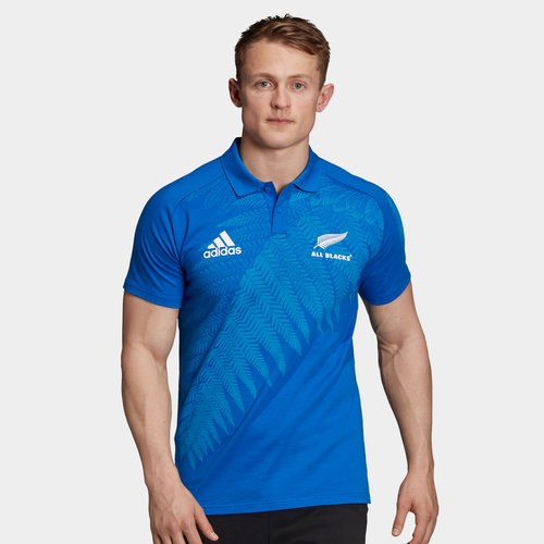 New Zealand All Blacks RWC 2019 Anthem Polo Shirt