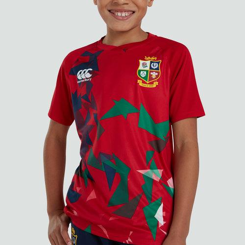 British and Irish Lions Lightweight T-Shirt Junior Boys