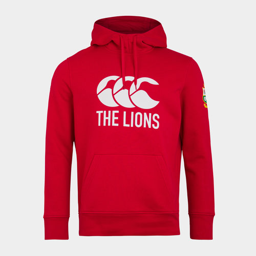 British and Irish Lions Logo Hoodie Mens