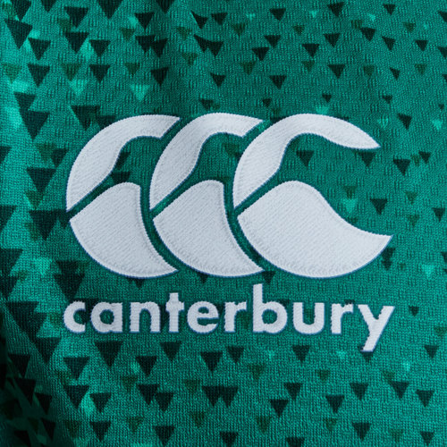 4282eaf727c Canterbury Ireland IRFU 2018/19 Home Players Test S/S Rugby Jersey ...