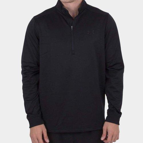 Armour Fleece Half Zip Top Mens