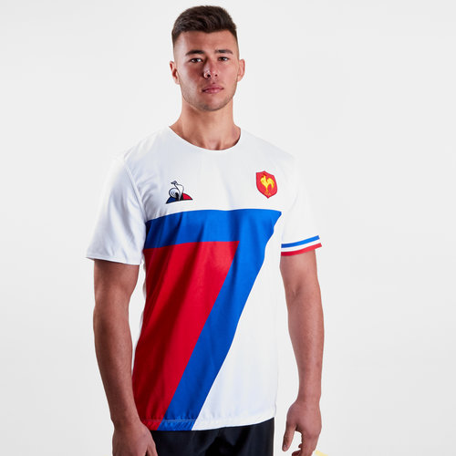9d19b8dae57 Le Coq Sportif France 7s 2018/19 Alternate S/S Rugby Jersey, €40.00