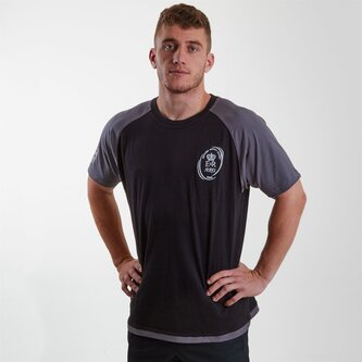 Army Rugby Union Short Sleeves Replica T Shirt Mens