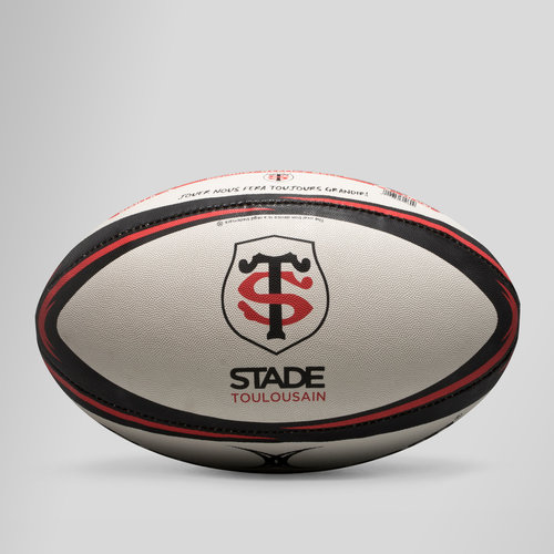 White//Black//Red Saracens Official Replica Rugby Ball