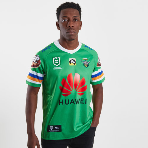 f913188ad71 ISC Canberra Raiders NRL 2019 Home S/S Rugby Jersey, €69.00