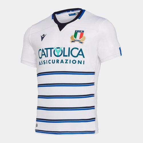 Macron Scotland 2019//20 Kids Home S//S Replica Rugby Shirt